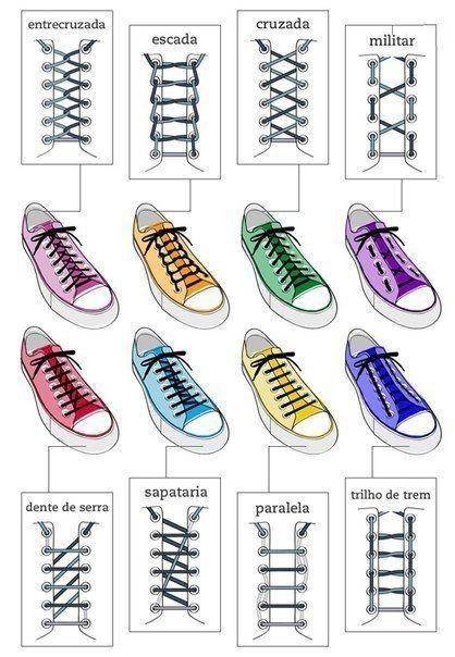 Shoe Lacing Ideas
