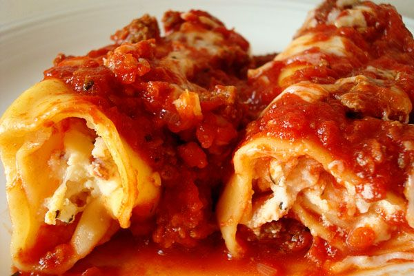 Best Baked Manicotti this is the America's Test Kitchen Recipe - the best! with no boil Lasagna noodles