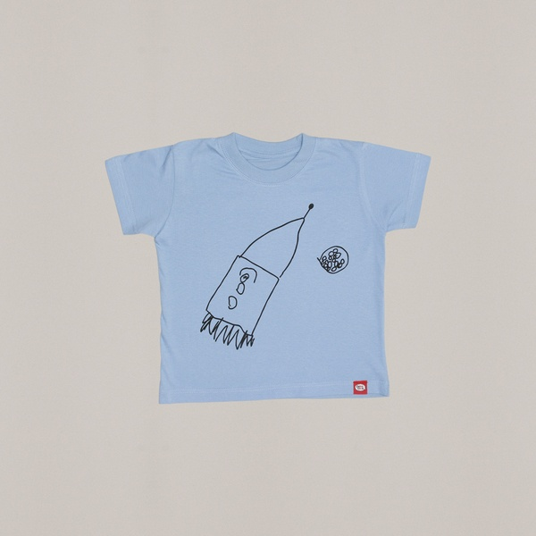 Rocket and the Exploding Mars t-shirt - design by matiODmati [5 years old]
