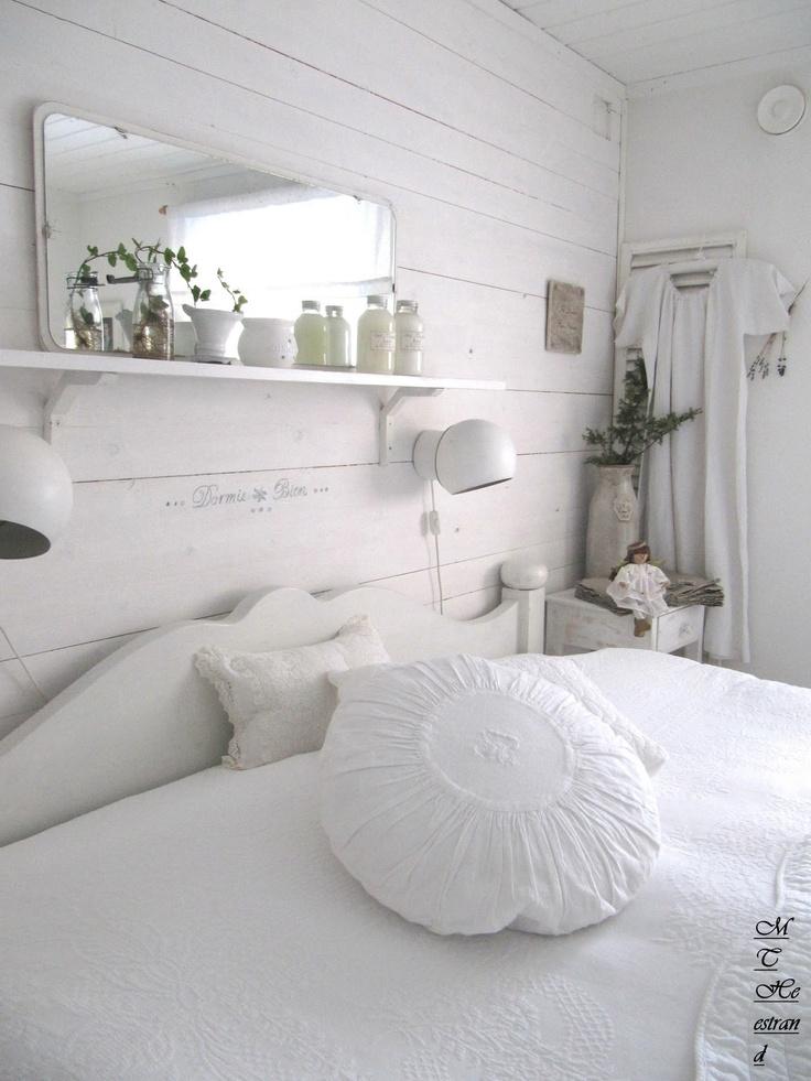 Clean, white home