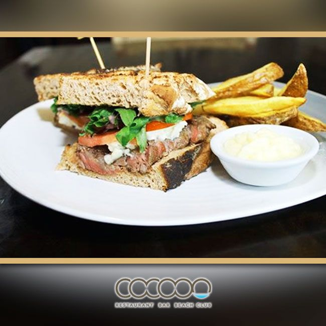The sun is shining and it's a beautiful Bali day. Why not pop down for the our delicious steak sambo by the pool.