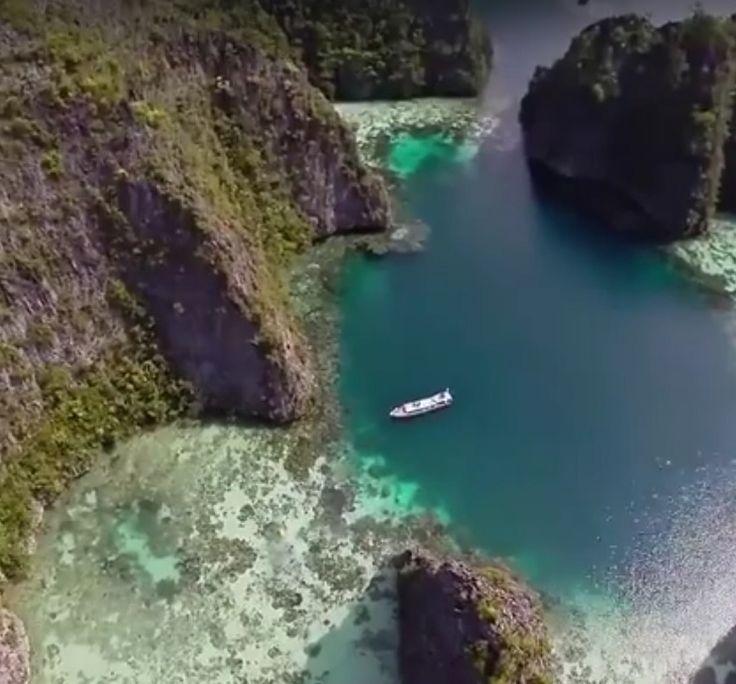 ❝ Un paseo por Ilhas Raja Ampat, Indonesia (Vídeo) ❞ ↪ Vía: Entretenimiento y Noticias de Tecnología en proZesa