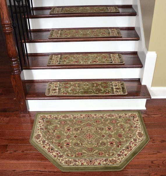 Best Dean Premium Tape Free Pet Friendly Carpet Stair Treads 640 x 480
