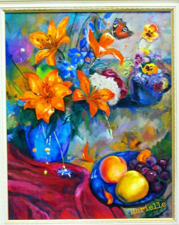 """""""Still life"""", oil on canvas"""