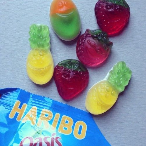 bonbons haribo oasis fruits