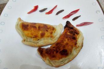 Cómo hacer una empanada de mariscos surtidos
