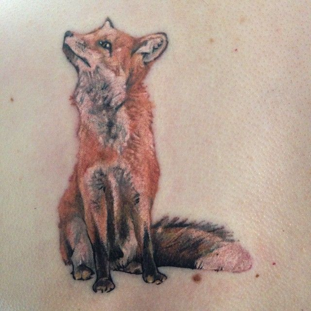 Image result for art nouveau fox tattoo