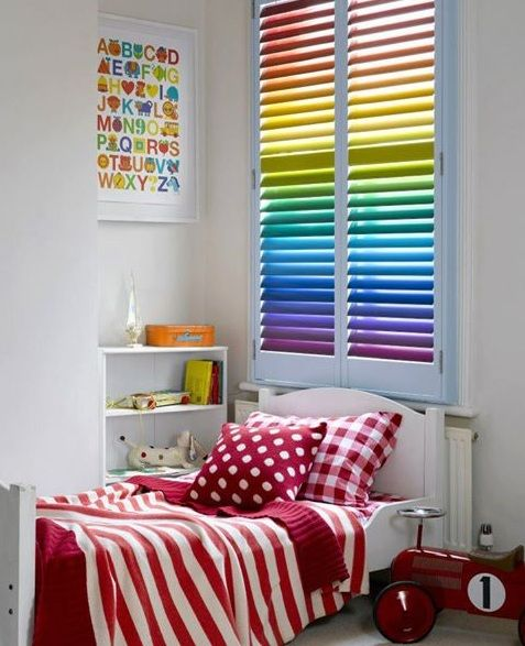 Rainbow Room Decorating