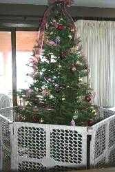 extra wide baby gate for christmas tree