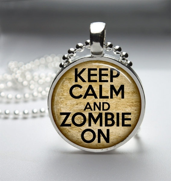 Keep Calm and Zombie OnAwesome Jewelery, Aaron Savage, Calm People, Keep Calm, Zombies Ready, Andrew Aaron, Zombies 3