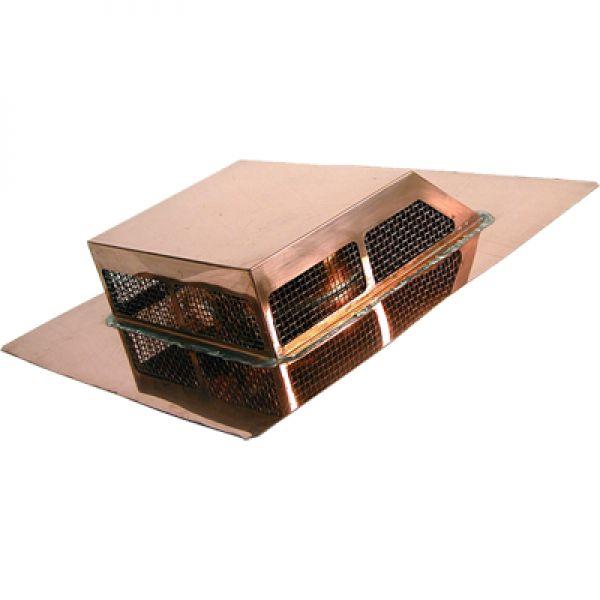Rectangular Low Profile Attic Roof Vent   Copper Roof Vent   Copper Roof  Vents   Copper