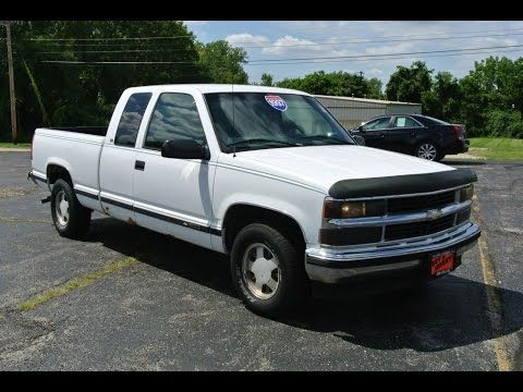 1997 Chevrolet C1500 Silverado Extended Cab For Sale Dayton Troy ...