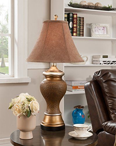 traditional table lamps for living room. SET OF 2 TRADITIONAL ANTIQUE BROWN AND GOLD  FABRIC SHADE TABLE LAMPS Click image twice for more info See a larger selection of traditional table lamps 90 best Traditional Table Lamps images on Pinterest