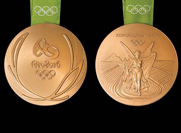 Por que as medalhas olímpicas têm o desenho de folhas de louro?
