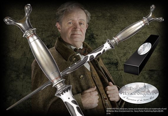Professor Slughorn Wand at noblecollection.com