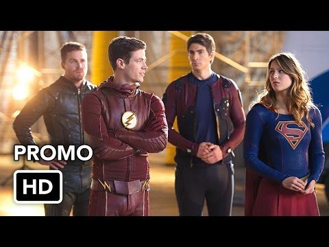 The Flash, Arrow, Supergirl, DC's Legends of Tomorrow 4 Night Crossover Event Promo #3(HD) - YouTube