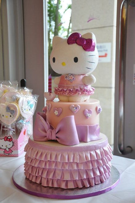 Hello Kitty Cake & Cookies