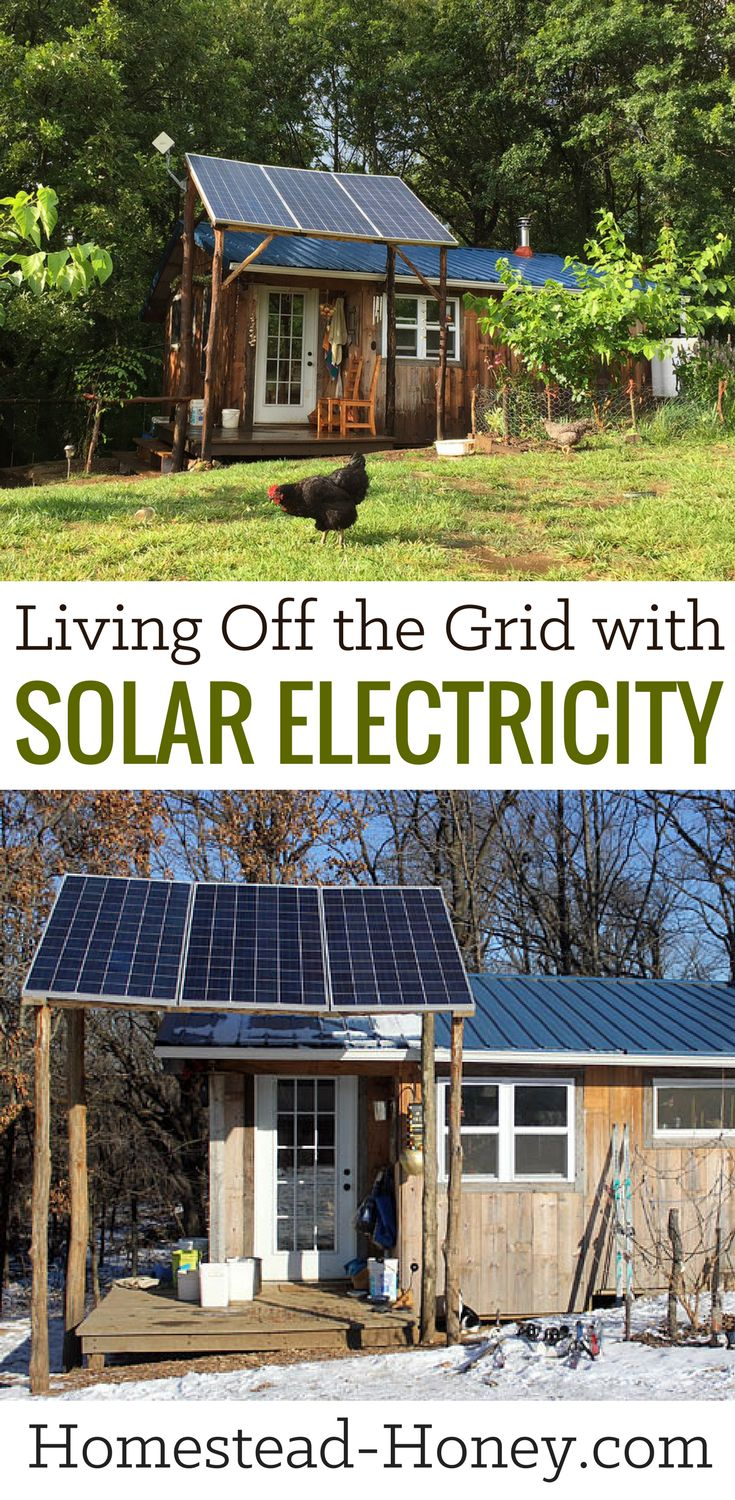 Ever wonder what it's like to live off the grid with solar electricity? My family has run our home on solar electricity for the past three years, and in this post we share what it's like to use a photovoltaic system for your home power!