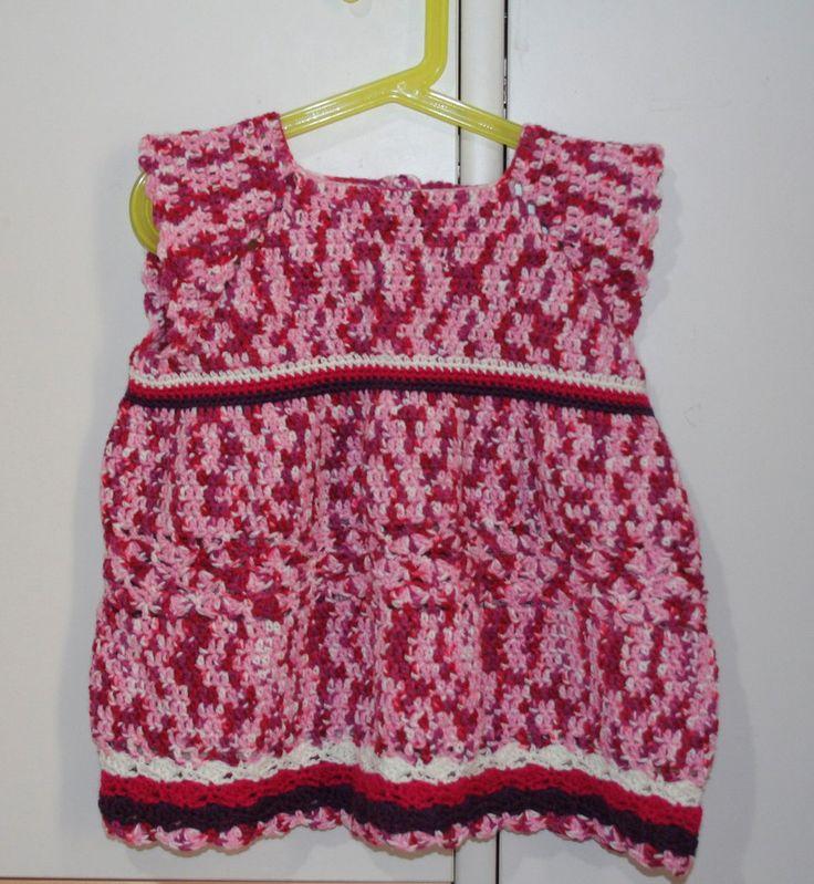 Vestitino bimba. Personalizzabile colore e taglia. , by Filo sull'uncinetto, 10,00 € su misshobby.com