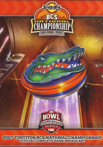 The 2007 BCS National Championship Official Complete Game Broadcast [DVD] [English] [2007]