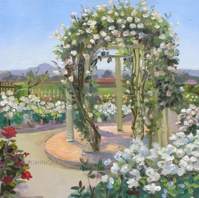 This too.... :-) I really want to have a gazebo with white roses all over it.