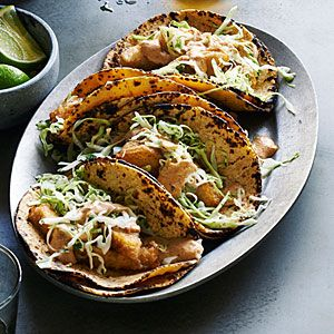Baja Fried-Fish Tacos Recipe | MyRecipes.com Mobile