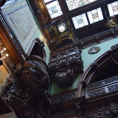 La salle d'honneur du Château Peles.
