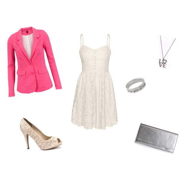 Pretty in Pink. The perfect outfit to wear on a date, to work, anywhere really <3 Love the pink blazer.