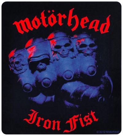 Sticker MOTORHEAD - Iron Fist