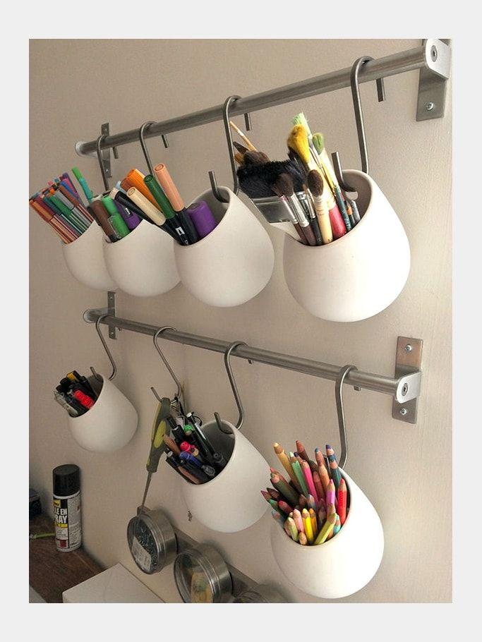 Les 25 meilleures id es concernant salles de bains de - Pot pour pinceaux maquillage ...