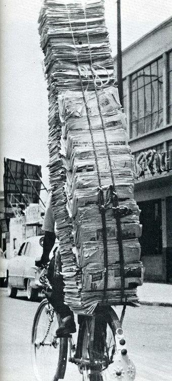 Livreur de journaux!