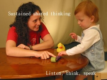 The importance of sustained shared thinking