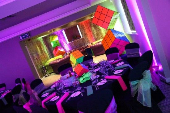 1000 images about rubik cube party on pinterest rubik 39 s for 80s decoration party