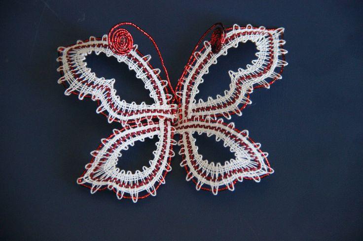 Motýl červený