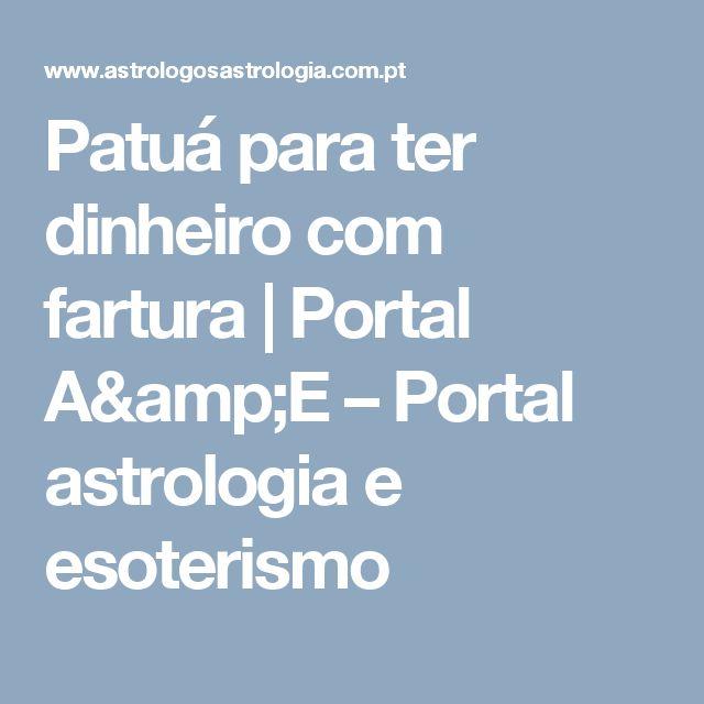Patuá para ter dinheiro com fartura | Portal A&E – Portal astrologia e esoterismo