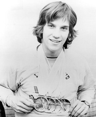Eric Heiden became a speed skating icon when he won five individual Olympic medals at the 1980 Lake Placid Winter Olympics.