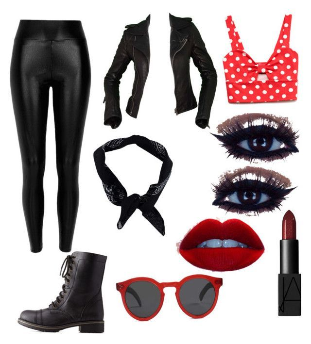 """Biker Chick Costume"" by kbogsing on Polyvore"