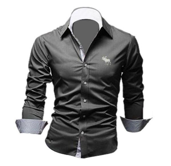 Fashion Long Sleeved Dress Shirt