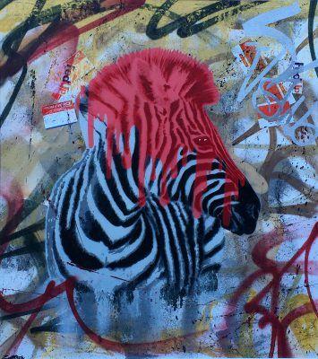 Urban Safari Zebra / Red
