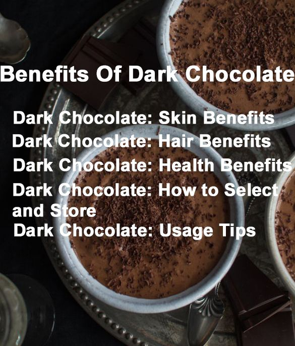 Amazing Health  Benefits Of Dark Chocolate
