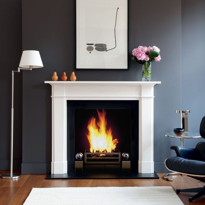 I would design a whole house around a Chesney fireplace.  The Devonshire - Chesney's