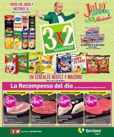 NUEVO folleto deJulio Regalado 2017 en Soriana Hiper y Soriana Super del viernes 11 al lunes 14 de Agosto, donde encontrarás las siguientes ofer...