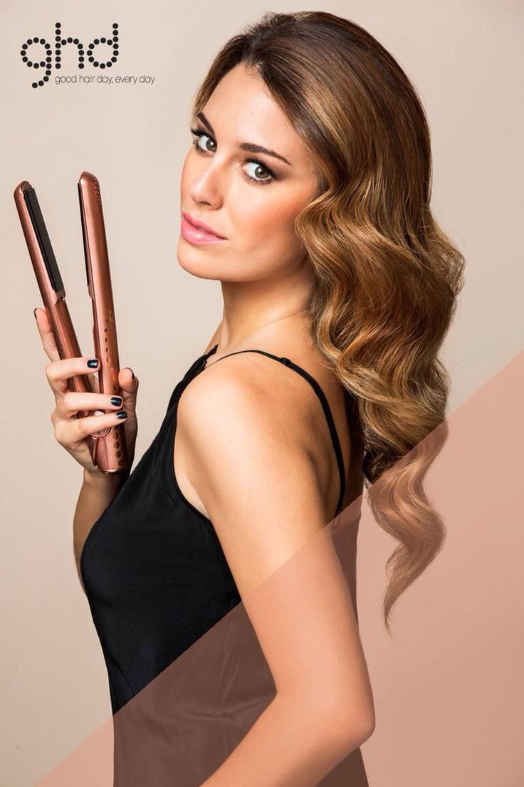 Blanca Suárez for @ghdspain con STYLER ghd rose gold