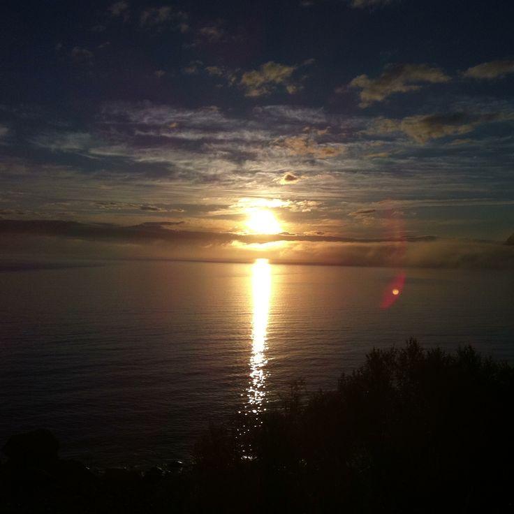 Midnight sun at Nupen.