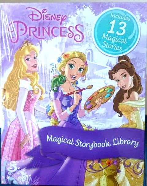 Disney Princess includes 13 Magical Stories Books Christmas Gift NEW & FREE POST
