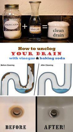 How to unclog your drain with vinegar and baking soda - nCleaningTips.com