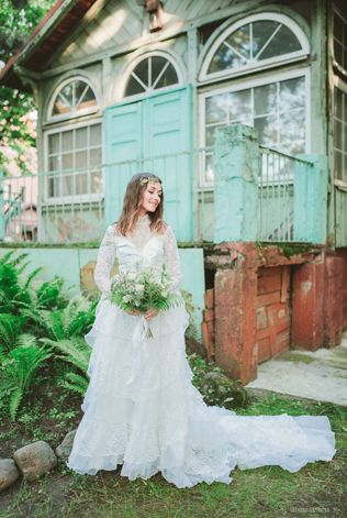 Фотосессия у старой немецкой усадьбы - The-wedding.ru