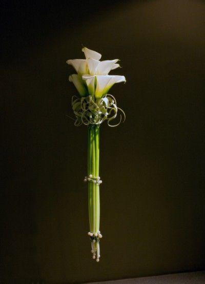 Calla Bouquet with European Collar - Stef Adriafnssens #floral