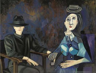 Ode to Picasso by Ans Markus (b. 1947)