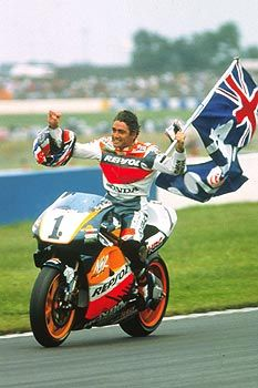 Mick Doohan - 5 times 500cc MotoGP World Champion  from Brisbane, Aus